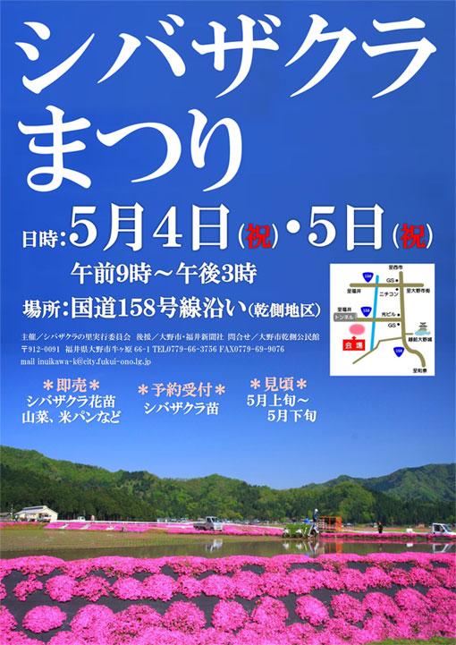 大野シバザクラ祭